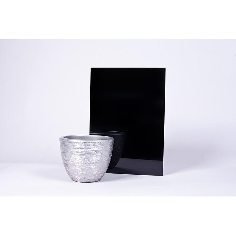 Płyta akrylowa Czarny połysk 8421
