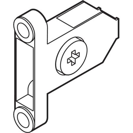 Mocowanie frontu Tandembox Blum ZSF.35A2
