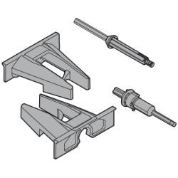Tip-ON - synchronizacja - zestaw zębatek do prowadnic Movento Blum