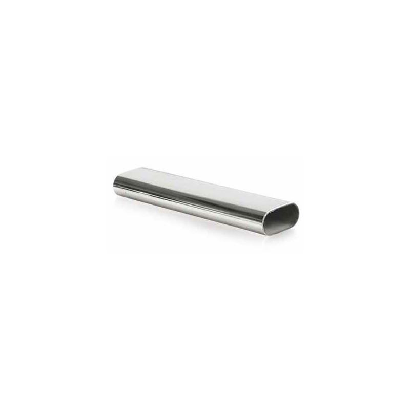 Drążek owalny do graderoby 30x15 mm chrom L-3m