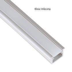 Profil aluminiowy do taśmy LED INSIDE LINE 2m do wpustu klosz mleczny