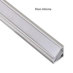 Profil aluminiowy do taśm LED, TRI-LINE MINI 2m klosz mleczny