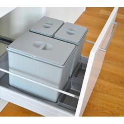 Kosz na odpady PULLBOY FLEX 600 09.64.S Peka