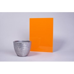 Płyta akrylowa Pomarańcz połysk 93201