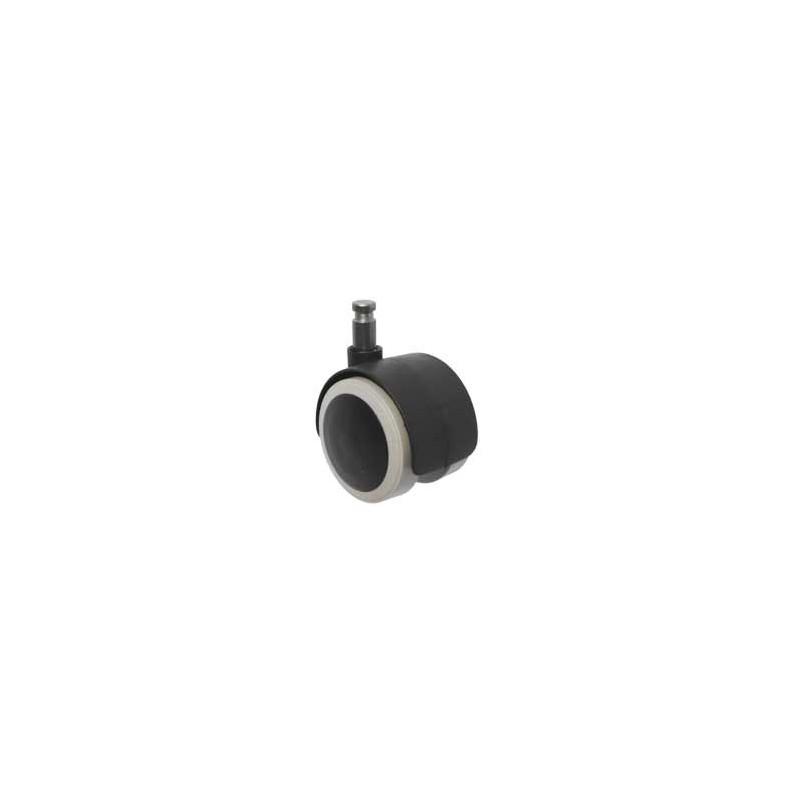 Kółko meblowe obrotowe gumowane Typ K-40/12 G DEG-PLAST