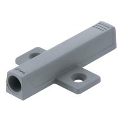Adapter TIP-ON do drzwi, krzyżakowy (37/32 mm), R7036 platynowoszara