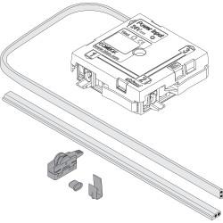 Czujnik kolizji COMBOX SERVO-DRIVE, Zestaw + akcesoria, czarny