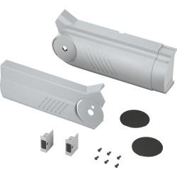 AVENTOS HF do frontów uchylno - składanych, zestaw zaślepek (włącznie z Włącznik wpuszczany, w kpl.), lewa/prawa, do SERV