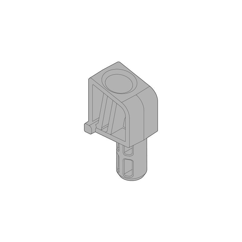 124° ogranicznik kąta otwarcia do AVENTOS HL, R7037 ciemnoszara