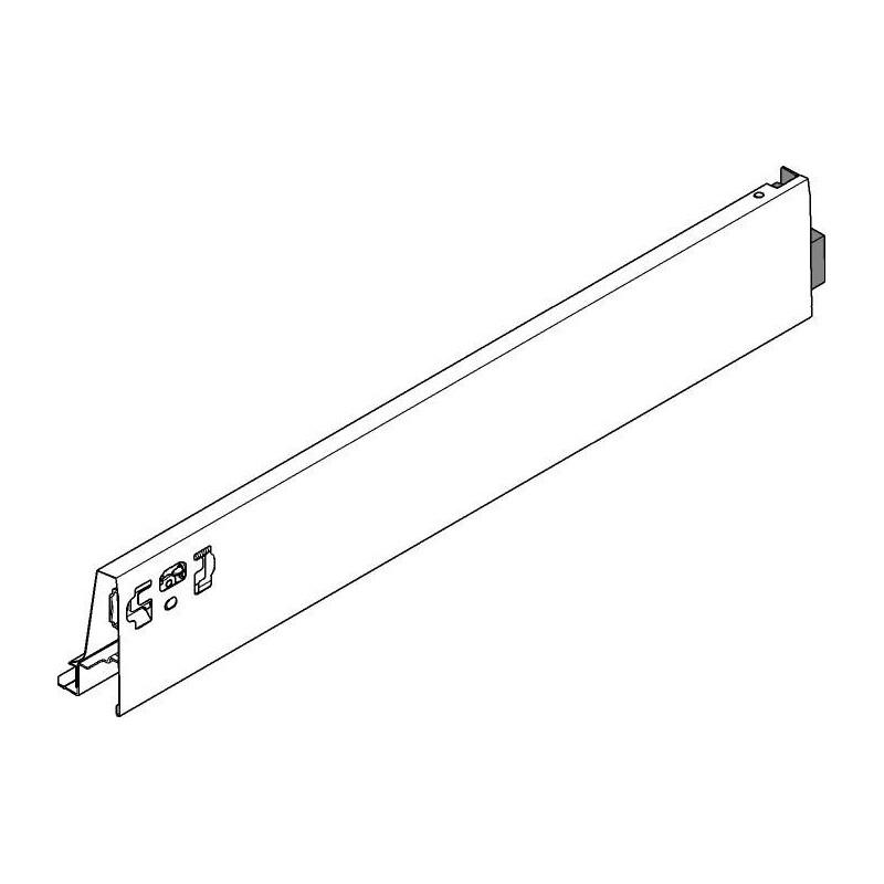 Prawy bok szuflady Tandembox Antaro L-500 378M5002SA szary Blum