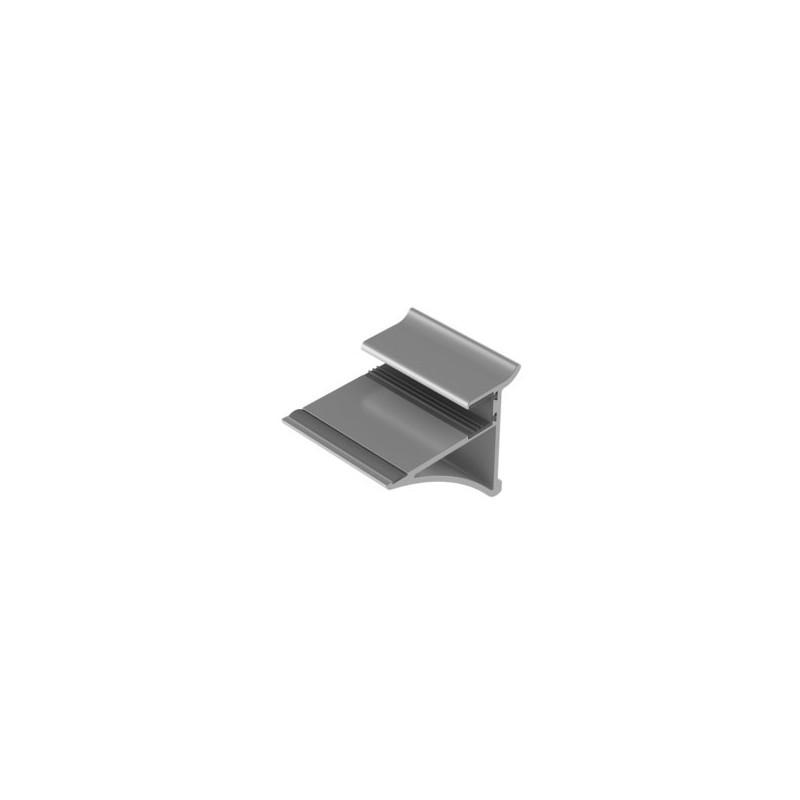 Uchwyt Półki Szklanej 10mm Zobal L 50mm 032 084 05 Wiór Sp J