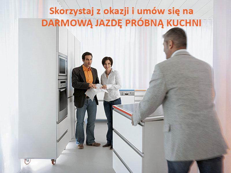 DARMOWA JAZDA PRÓBNA KUCHNI